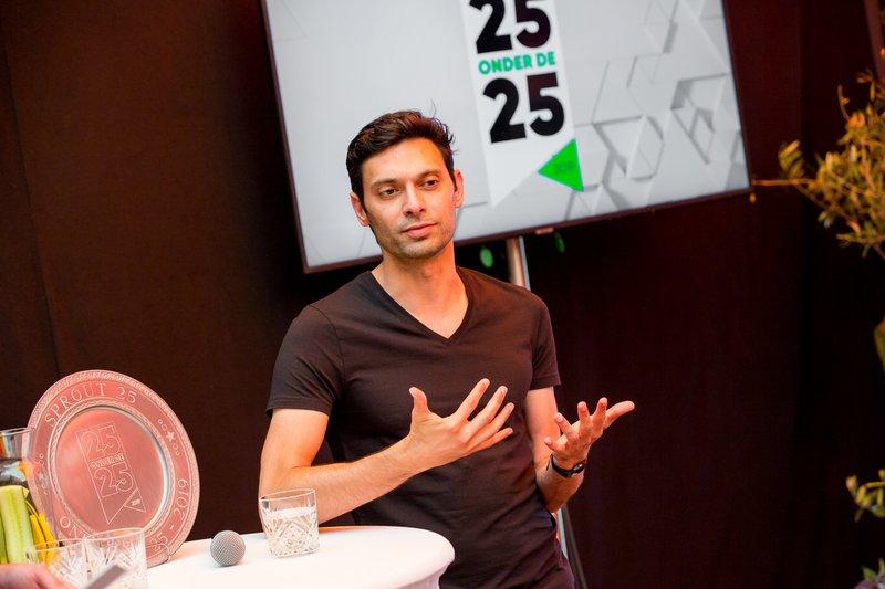 25 onder de 25 event 2019, foto: Maurice Vinken / Kleurstof, Ali Niknam