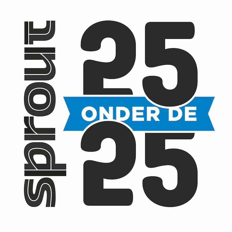 Sprout 25 onder de 25 logo lijst beste jonge ondernemers 2017