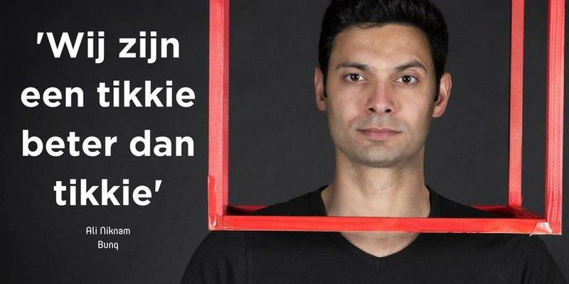 Quote van de dag: Ali Niknam 'wij zijn een tikkie beter dan Tikkie'