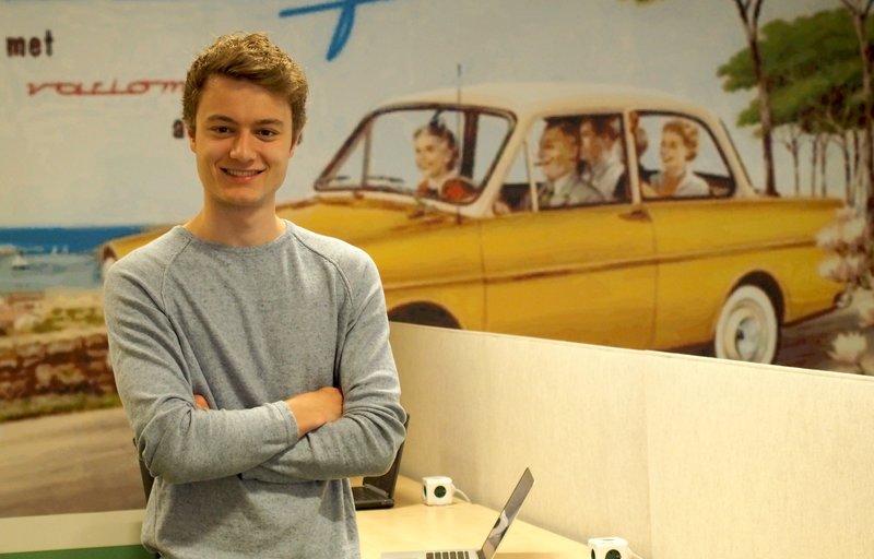 Amber Mobility, Steven Nelemans, jonge ondernemer, Sprout, deelauto's