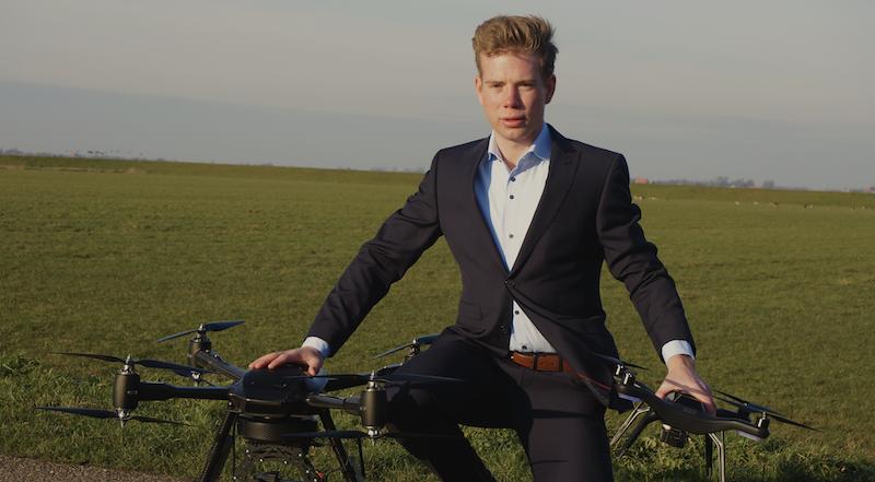 Mark Woortmeijer, Custom Drone Sprout 25 onder de 25 jonge ondernemer