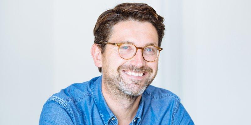 Damian Bradfield, mede-eigenaar en CMO van WeTransfer