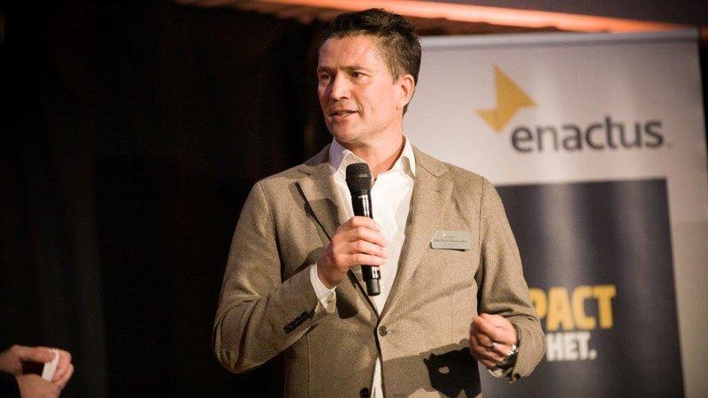 Enactus impact maken Michiel Munneke