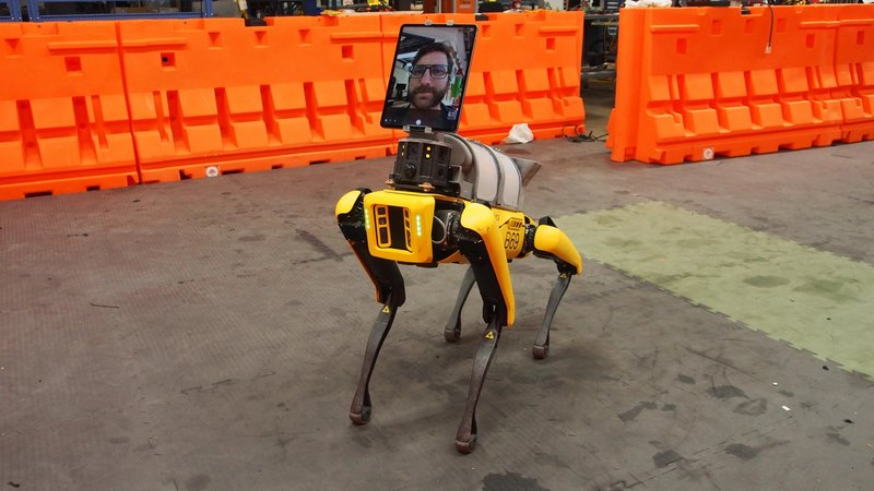 Boston Dynamics Spot Arts