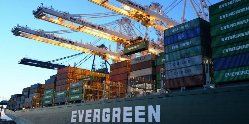 Containerschip, scheepvaart, containers