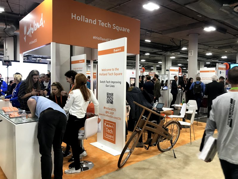 Holland Pavillion op de CES 2018