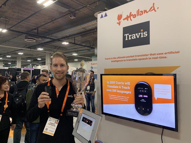Travis op de CES 2019