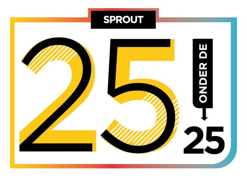 logo 25 onder de 25 2018
