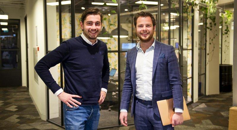 Martijn Bruintjes, Ruben Paijens, Bibbr, jonge ondernemer, sprout, retail