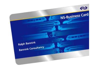 NS Business Card - Voor uw zakelijke reizen
