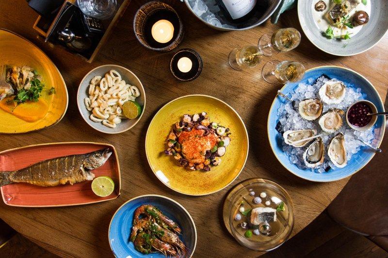 De gerechten bij Pesca Amsterdam