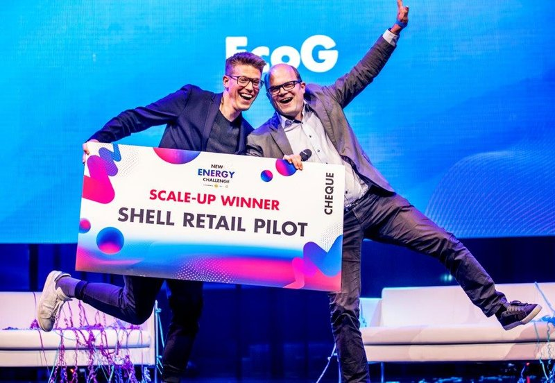 New Energy Challenge 2019, winnaar scaleup EcoG