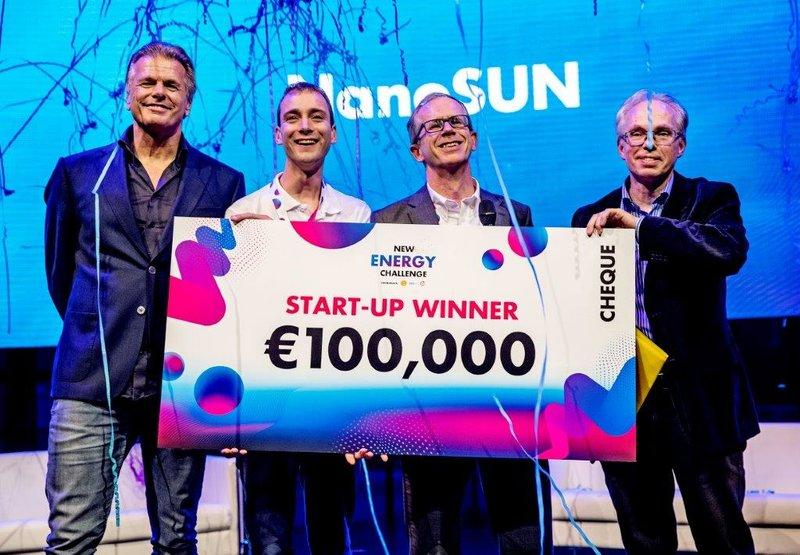 New Energy Challenge 2019 winnaar startup NanoSUN
