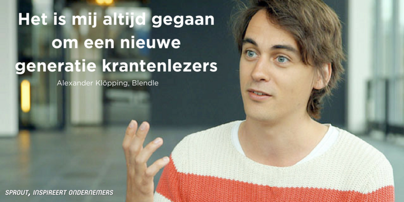 Alexander Klopping, Quote van de dag
