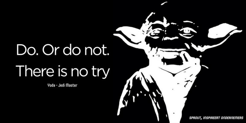 Quote van de dag: Yoda