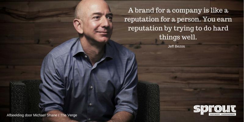Quote van de dag van Jeff Bezos