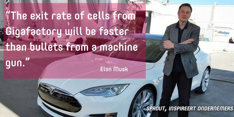 Elon Musk quote van de dag