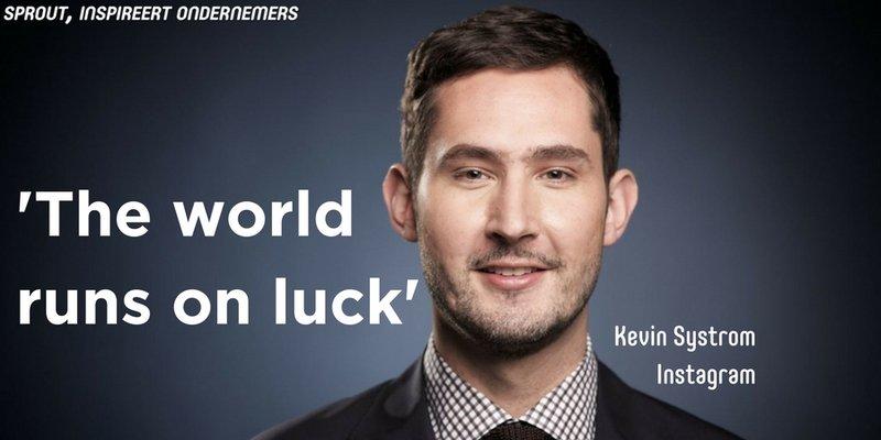 Instagram oprichter Kevin Sysytrom quote