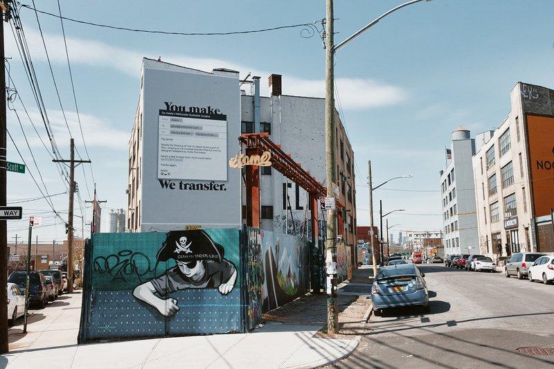 WeTransfer in New York