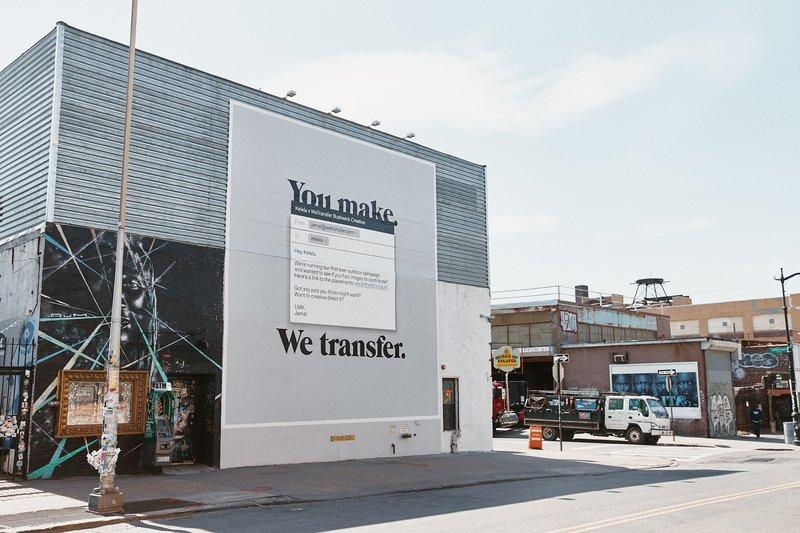 WeTransfer verovert New York