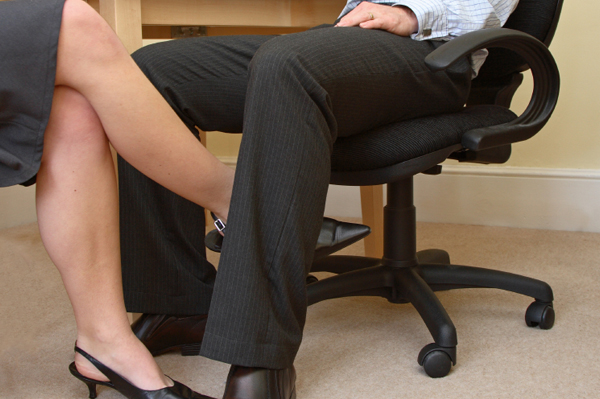 Flirten werkvloer