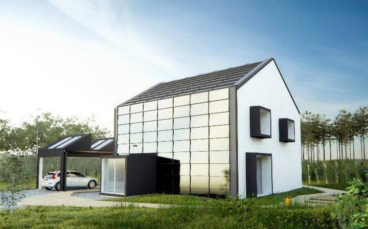 energiezuinig huis van de toekomst