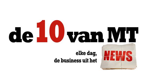 Plus: Deze aandelen worden 'hot' in 2016, Crowdfundingmarkt 128 miljoen waard, Fusie farmaciereuzen op stapel. Elke dag presenteert MT de business uit het nieuws van de dag in 10 punten. Vandaag: 1. 'Doorstart V&D 100% zeker' Er komt '100% zeker' een doorstart van het failliete V&D. Dit zegt Edwin van Wijk, woordvoerder van de curatoren van V&D tegenover nieuwszender RTLZ. Er zou sprake zijn van een doorstart van 62 winkels. Bij tientallen zwakke winkels, veelal te vinden in provinciesteden als Den Helder, Meppel en Weert, gaan de deuren wel dicht. Daarmee wordt naar schatting 30 procent van de omzet weggesneden, maar wordt de basis van het bedrijf weer kostendekkend. Het management van V&D wil dat het winstgevende restaurant La Place (60 in totaal) onderdeel blijft van het concern. Ook moet de doorstart plaatsvinden zónder durfinvesteerder Sun Capital. Het is onduidelijk welke kopers interesse hebben in het het grootwarenhuis. De winkels maakten jaren achtereen verlies, in 2014 bijna 40 miljoen euro in totaal. Op oudejaarsdag ging V&D failliet, nadat eerder in december uitstel van betaling werd aangevraagd. Er werken in totaal 10.000 mensen bij V&D. Hun toekomst blijft onzeker. Lees ook op MT.nl: 'Waarom V&D failliet gaat' 2. Chinese beurs dicht na harde koersval De Chinese aandelenhandel is maandag vroegtijdig beëindigd omdat de koersen te hard daalden. De CSI 300-index stond 7 procent in het rood. Hierdoor kwam een juist maandag ingevoerde maatregel om paniek op de markten te voorkomen direct in gebruik. De forse koersval is te wijten aan berichten over een tegenvallende Chinese economie. Ook anticipeerden beleggers op het einde van het tijdelijke verbod op de verkoop van aandelen door grootaandeelhouders van bedrijven. Per 4 januari 2016 wordt de aandelenhandel in China een kwartier gestaakt als de CSI 300 5 procent verliest. Bij een min van 7 procent wordt de handel voor de rest van de dag beëindigd. De CSI 300 bestaat uit de driehonderd belangrijkste bedrijven