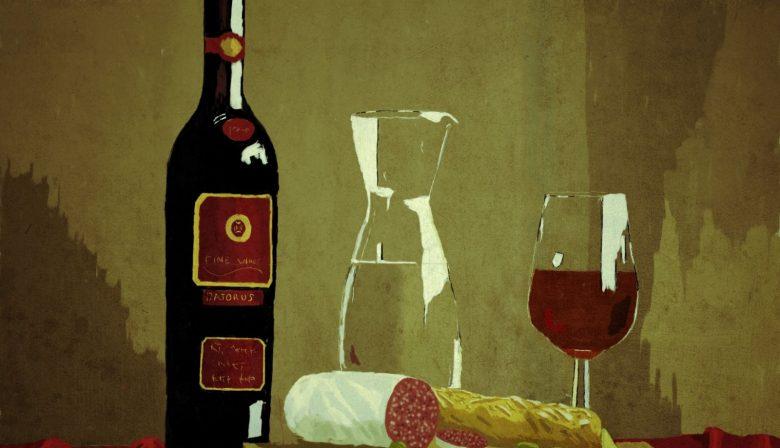 1 fles wijn per dag gezond