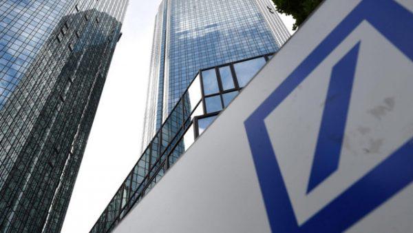 Deutsche Bank-kantoor.
