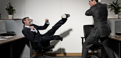 conflict op kantoor