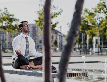 Bob is divisiedirecteur van een groot concern. Hij doet zijn best. In aflevering 234 wordt Bob aangeraden iets met mindfulness te doen.