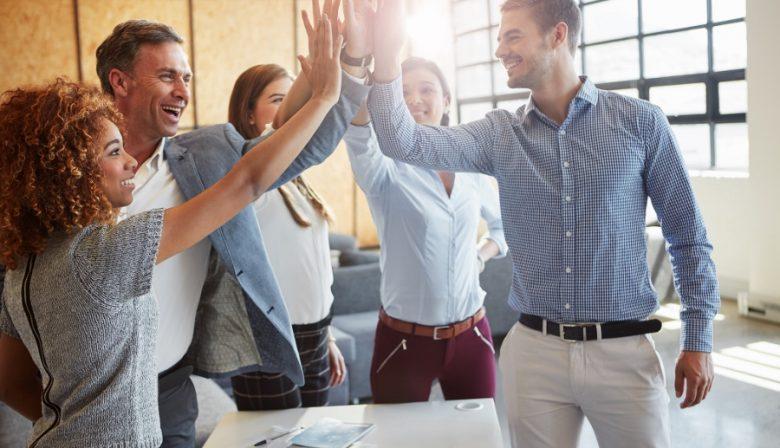 Medewerkers, zelfsturende teams, minimaal management