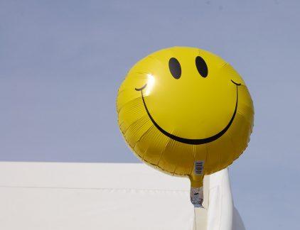 gelukkige werknemers
