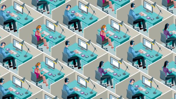 flexibele werkplek