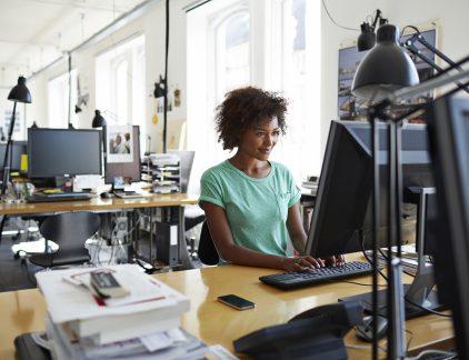Efficiënt werken, productiviteit, beeldschermen, lezen, digitaal,