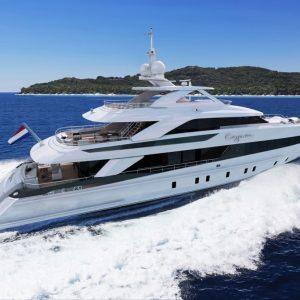 Heesen Yachts CEO: Arthur Brouwer Plaats: Oss Omzet: 119 miljoen euro Gemiddelde groei (2013-2017): -0,9% Gemiddelde EBIT (2013-2017): 6,7% FTE: 403