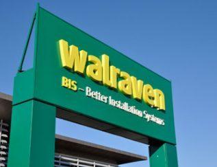 Walraven CEO: Pelle van Walraven Plaats: Mijdrecht Omzet: 123,5 miljoen euro Gemiddelde groei (2013-2017): 5,5% Gemiddelde EBIT (2013-2017): 4,7% FTE: 1.044