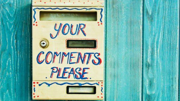 Ideeënbus comments box MT