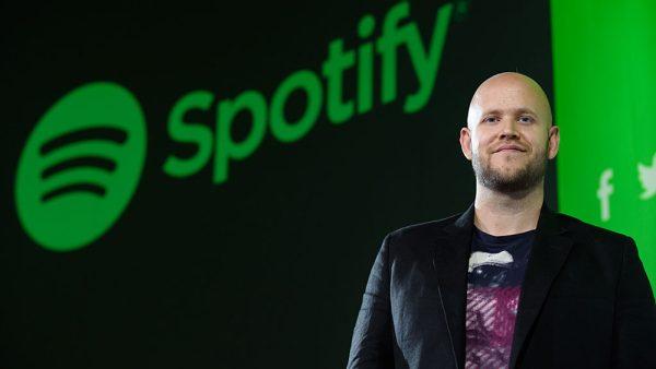 Daniel Ek, Spotify, CEO, beursgang