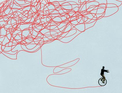 Een probleem oplossen? Het klinkt logisch, maar vaak wordt aan symptoombestrijding gedaan, aldus organisatieadviseur Wouter Fioole. In zijn nieuwe boek 'Het probleem met problemen' pleit hij voor een rigoureuze aanpak. 'Ga op zoek naar problemen, ook als die nog niet aan het oppervlak liggen.'