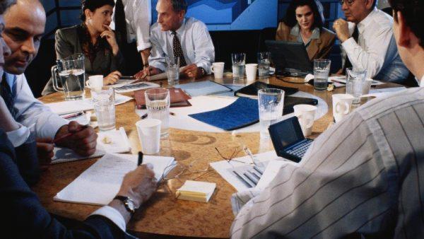 vergaderen vergadering