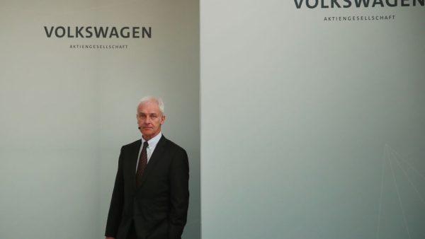 Matthias Müller Volkswagen MT