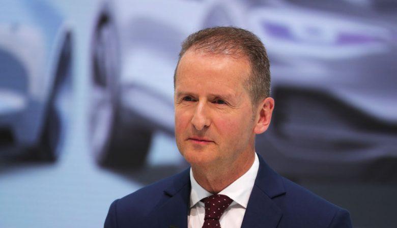 Herbert Diess Volkswagen MT