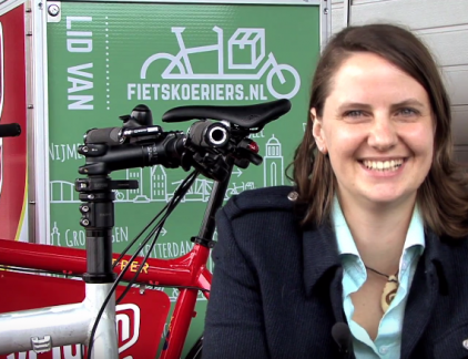 Marieke Snoek Cycloon fietskoeriers MT