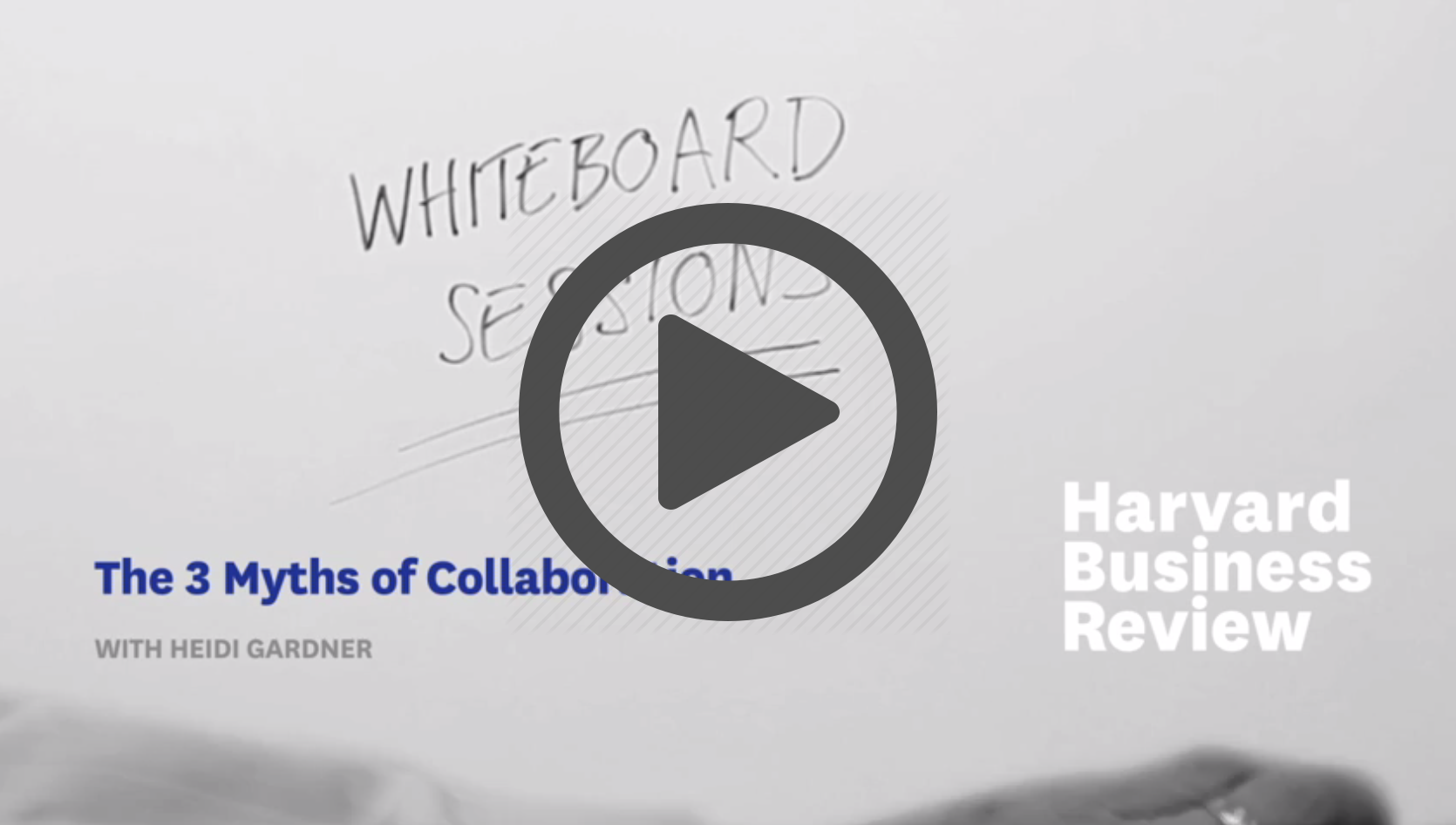 HBR samenwerken Heidi Gardner
