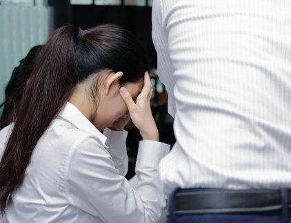 huilen op het werk
