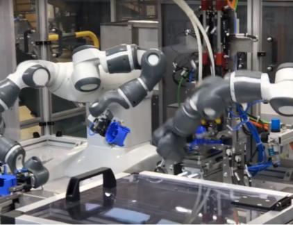 ABB co-robots samenwerken