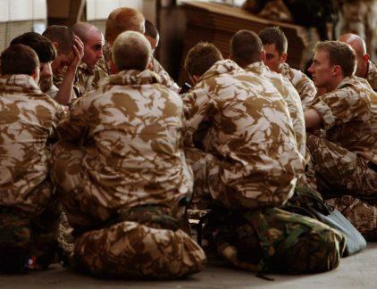 Royal Marine beste leiders zijn volgers MT
