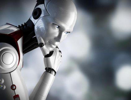 deelrobot met collega's robot delen