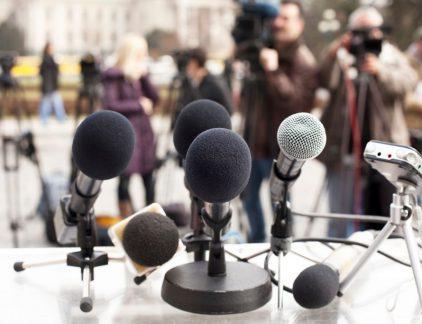 persconferentie